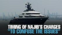 NEWS: Najib's new charges unrelated to 1MDB, Equanimity