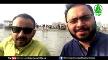 Barvein Hussain at Clifton Beach Karachi - Khurram Murtaza & Abid Ali Kasuri.