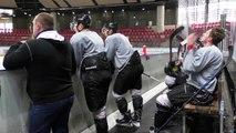 Hautes-Alpes : premier entrainement de la saison pour les Rapaces de Gap