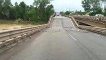 Sel Suları Köprü ve Yolları Yuttu...sel Felaketi Kamerada