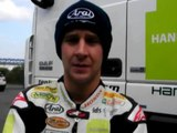 MCN Sport: Johnathan Rea talks from Magny Cours WSB test