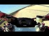 Ducati 848 Evo onboard