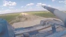 Russia: BOOM! International Army Games tank biathlon
