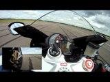 Aprilia RSV4 flat out!