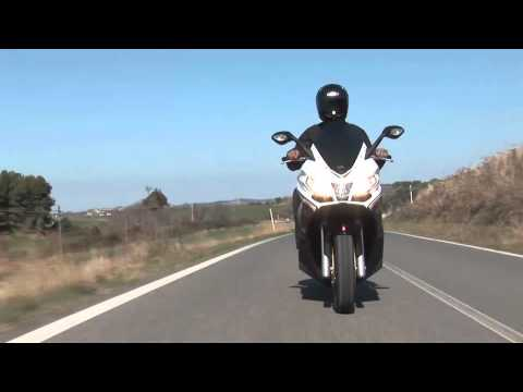 Aprilia SRV850 ridden