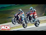 MV Agusta Rivale 800 vs Ducati Hypermotard SP | Versus Test | Motorcyclenews.com