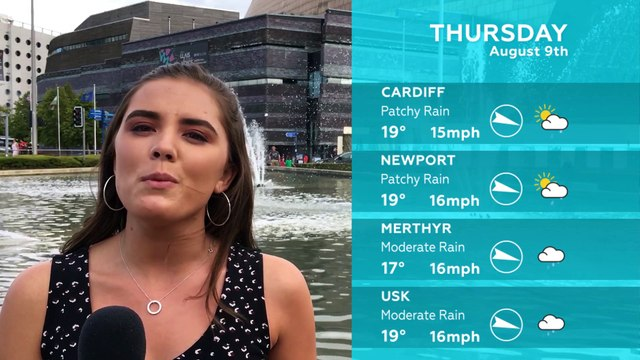 WEATHER: August 9th 2018
