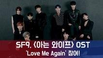"""SF9, tvN 수목드라마 '아는 와이프' 첫 OST  참여! """"SF9만의 청량미로  엔딩 장식"""""""