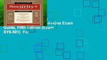 Any Format For Kindle  CompTIA Security+ All-in-One Exam Guide, Fifth Edition (Exam SY0-501)  For