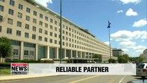 S. Korean gov't reliable partner in maritime implementation of UN sanctions: U.S. State Dept.