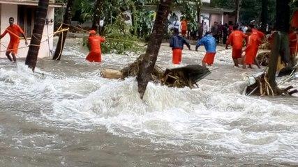 Kerala Heavy Rain and Flood Video