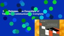 New Releases The Essentials of Technical Communication Complete