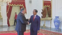 Secretary of State Mike Pompeo Meets With Indonesian President Joko Widodo