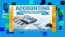 New Releases Accounting: The Ultimate Guide to Accounting Principles, Financial Accounting and