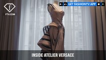 Versace Presents A Look Inside Atelier Versace Fall 2016 Details | FashionTV | FTV