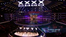 America's Got Talent 2018 - Glennis Grace- Singer Performs -Nothing Compares To You- By Prince