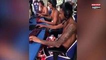 Quand Neymar joue à Counter Strike avec un champion de e-sport (Vidéo)