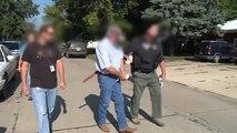 إعتقال أصحاب أعمال أمريكيين لتشغيلهم مهاجرين غير شرعيين