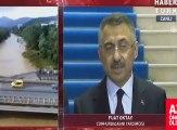 Cumhurbaşkanı Yardımcısı Fuat Oktay Ordu'da: Bir can kaybı olmadı, hasarın boyutu çok yüksek değil