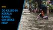 20 killed in Kerala rains; CM seeks help