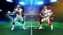 Who has bigger expectations in 2018: Dak Prescott or Jimmy Garoppolo?