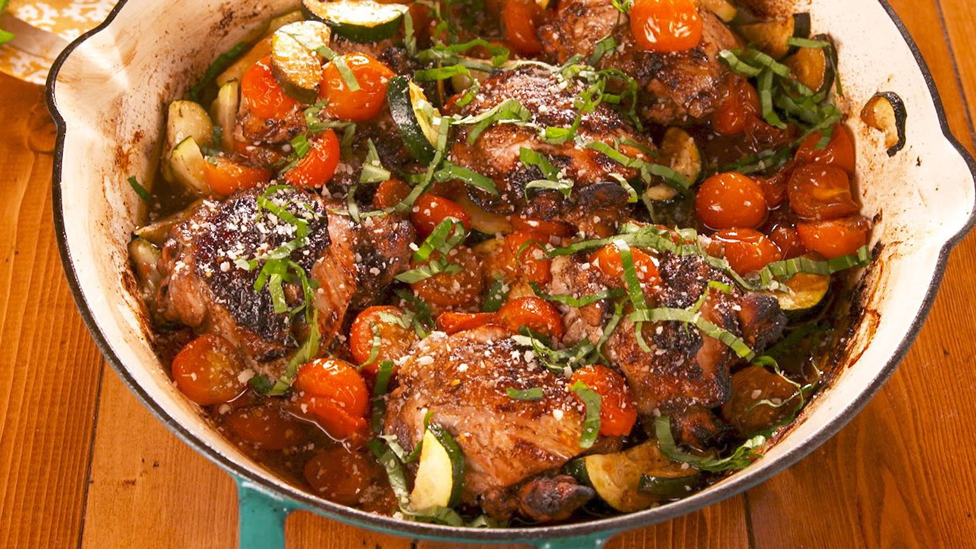 This Balsamic Basil Chicken Will Save You From Your Weeknight Dinner Rut