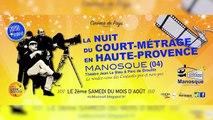 Alpes-de-Haute-Provence : la nuit du court métrage c'est ce samedi à Manosque !
