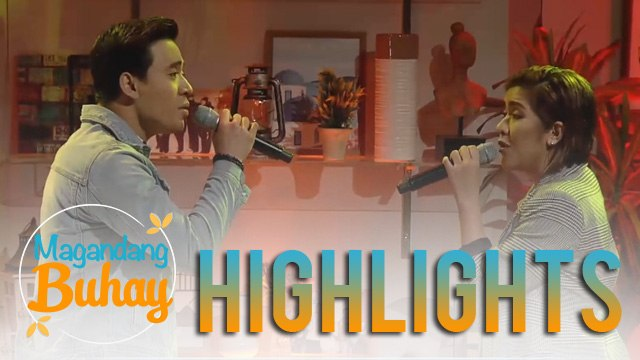 """Magandang Buhay: Erik Santos and Angeline Quinto perform """"Forever"""""""