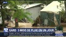 """""""Des enfants étaient accrochés aux branches."""" Dans le Gard, un camping ravagé par la rapide montée des eaux"""