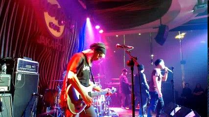 Grassrock Live at the Hard Rock Cafe Jakarta