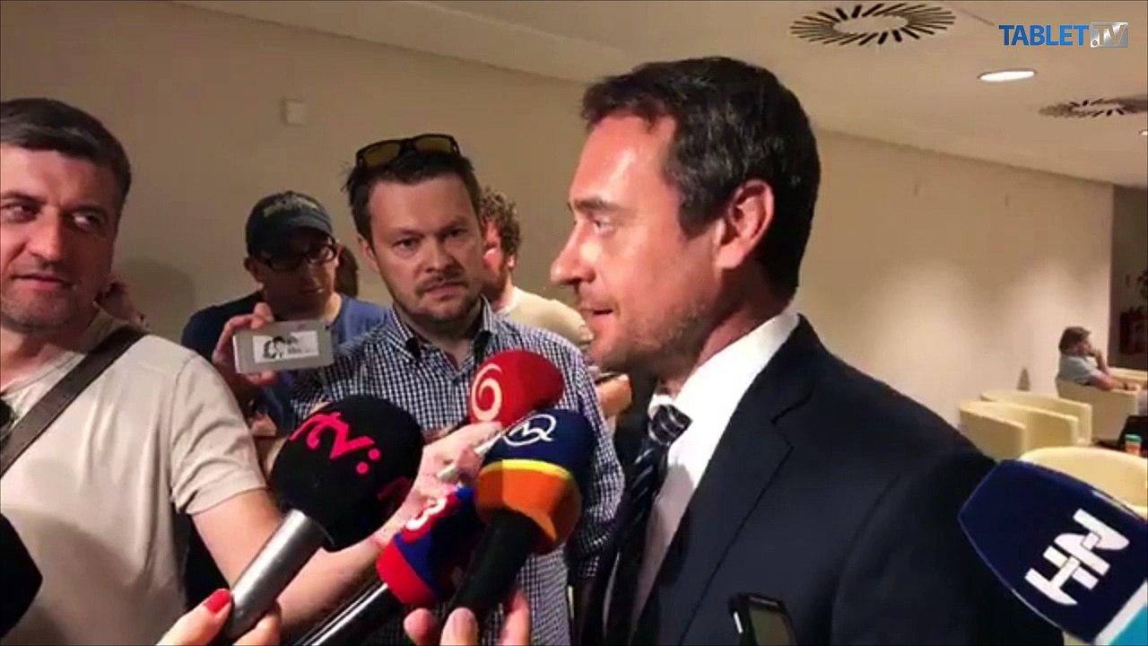 ZÁZNAM: Brífing poslanca J. Rajtára (SaS)