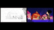 Mr. Bean | From Original Drawings To Animation | Coconut Shy | Mr. Bean Official Cartoon