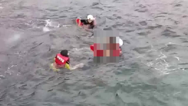 서귀포 앞바다에서 스노클링 하던 40대 숨진 채 발견 / YTN
