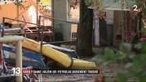 Intempéries dans le Gard : Saint-Julien-de-Peyrolas durement touché