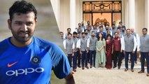 Rohit Sharma taunts BCCI as Anushka Sharma Features in Team India's Photo   वनइंडिया हिंदी