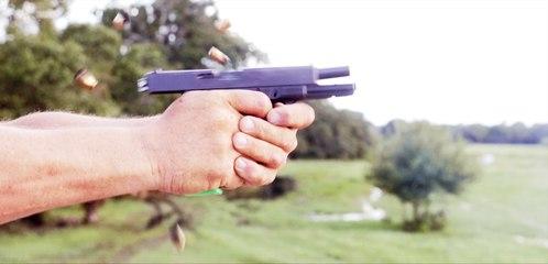 Shooting a Full Auto Glock