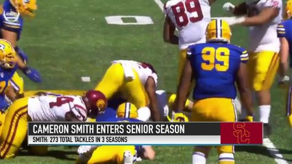 USC LB Cameron Smith Discusses Trojans' 2018 Outlook