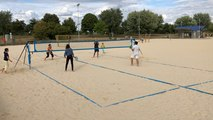 Beach-tennis à la Monnerie