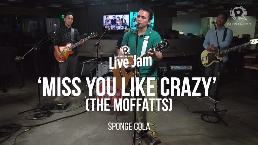 Sponge Cola – 'Miss You Like Crazy' (The Moffatts cover)