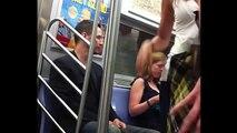 Keanu Reeves in train