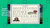 New Releases 100 Questions Every First-Time Home Buyer Should Ask: With Answers from Top Brokers