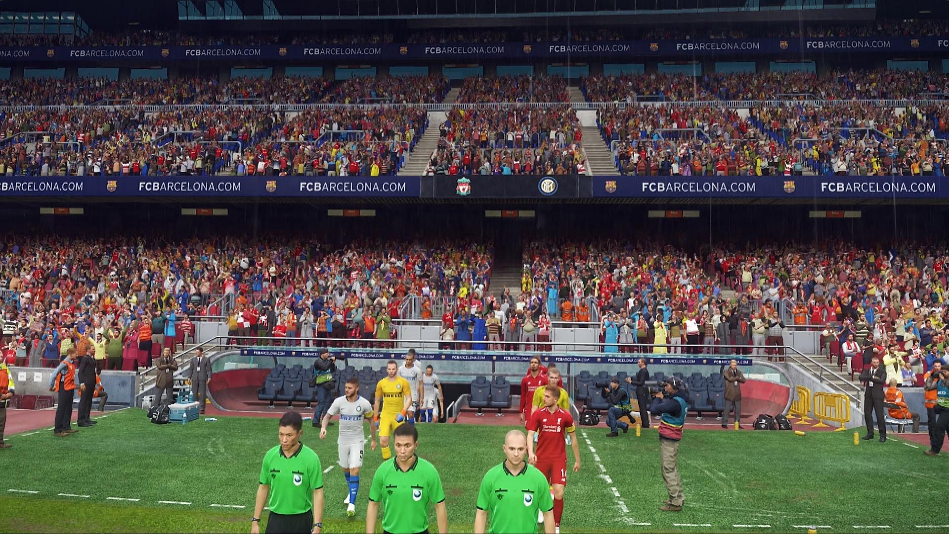 PES 2019 PC Liverpool-Internazionale demo