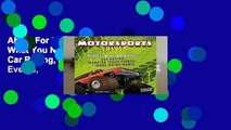 About For Books  Motorsports Trivia: What You Never Knew about Car Racing, Monster Truck Events,