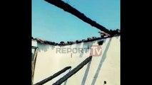 Report TV - Digjet shtëpia në Rrasë të Bleshit, tetë persona në qiell të hapur