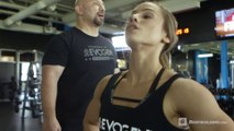 Sexy Couple Amazing Work out Training In Gym Couples Work out Training 2018