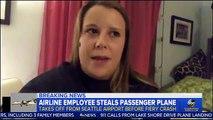 Frayeur aux USA: Un homme s'est emparé d'un avion pouvant accueillir 90 passagers et à décollé de Seattle - Après une heure de vol, il s'est écrasé - Vidéo