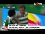 Sporting Lisbon Bungkam CSKA Moskow 2-1