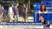 Macron à Brégançon: pas de vacance pour la diplomatie (1/2)