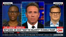 "Panel on Rep Nunes we must ""Keep The Majority"" to shield Donald Trump. #DonaldTrump #NinaTurner #GOP #Nunes #CNN #News"