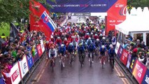 Matteo Trentin wins the Road Race European Championship in Glasgow (Gbr)